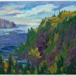 MOUNTAIN IN SHADOW – LITTLE PIC RIVER, LAKE SUPERIOR