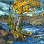 AUTUMN WIND MUSKOKA. 1973
